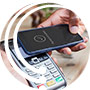 Access your debit card with your favorite mobile wallet app